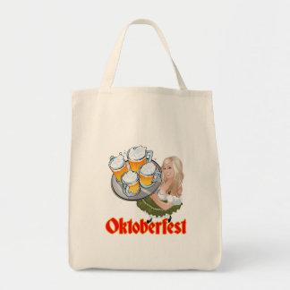 Oktoberfest Mädchen Canvas Bags