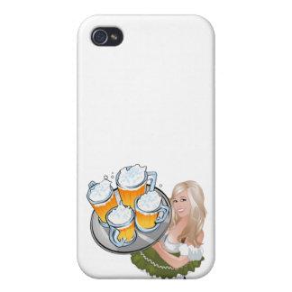 Oktoberfest Mädchen iPhone 4 Covers