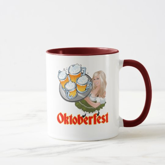 Oktoberfest Mädchen Mug