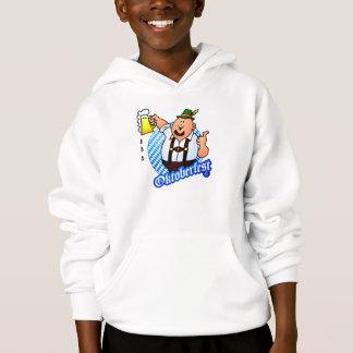 Oktoberfest - man in lederhosen hoodie