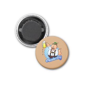 Oktoberfest - man in lederhosen fridge magnets