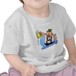Oktoberfest - man in lederhosen t shirts
