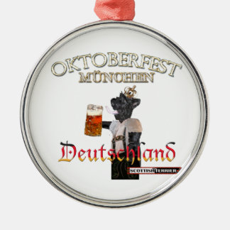 Oktoberfest Metal Ornament