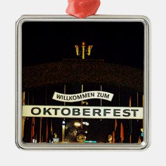Oktoberfest Metal Ornament