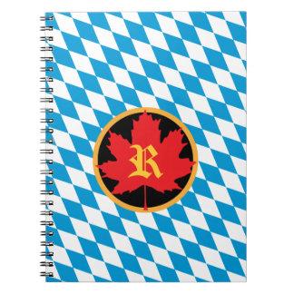 Oktoberfest Monogram Notebook