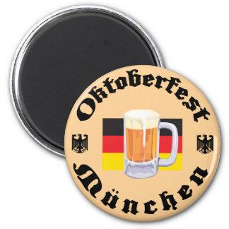 Oktoberfest Munchen 2 Inch Round Magnet