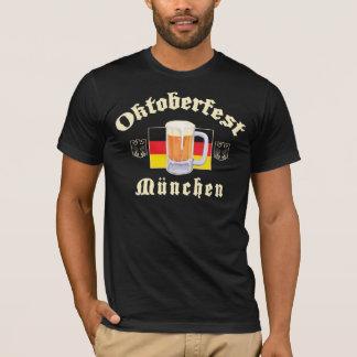 Oktoberfest Munchen Black T-Shirt