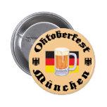 Oktoberfest Munchen Pinback Buttons
