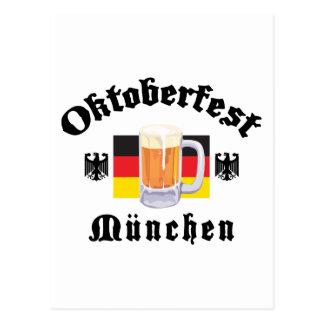 Oktoberfest Munchen Postcard