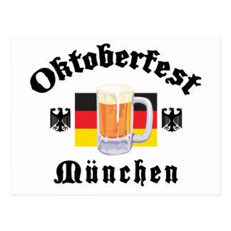 Oktoberfest Munchen Tarjetas Postales