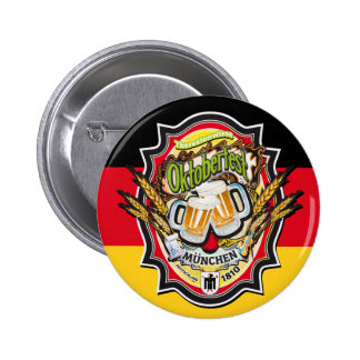 OKTOBERFEST MUNICH DEUTSCHLAND BUTTON