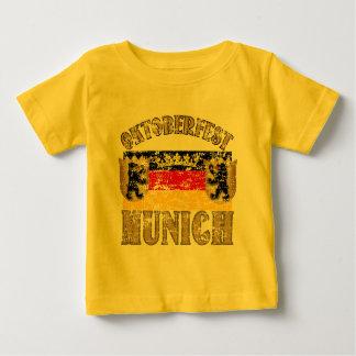 Oktoberfest Munich Distressed Look Design Baby T-Shirt