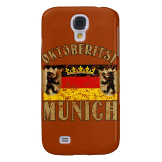 Oktoberfest Munich Distressed Look Design Galaxy S4 Cover
