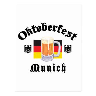 Oktoberfest Munich Gift Postcard
