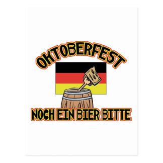 Oktoberfest Noch Ein Bier Bitte Postcard