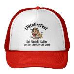 Oktoberfest Not Tonight Ladies Gift Trucker Hat