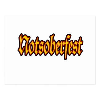 Oktoberfest Notsoberfest Postales