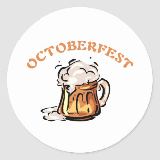 Oktoberfest Octoberfest Beer Mug Sticker
