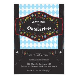 Oktoberfest (Octoberfest) German Party Invitation