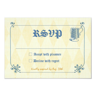 Oktoberfest or Beer Party RSVP Card