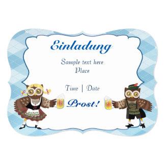 Oktoberfest owls card