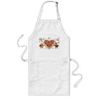 Oktoberfest owls long apron