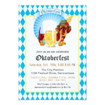Oktoberfest Party and Celebration Invitation