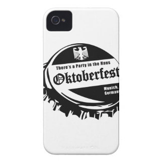 Oktoberfest Party in the Haus iPhone 4 Case-Mate Case