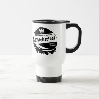Oktoberfest Party in the Haus Travel Mug