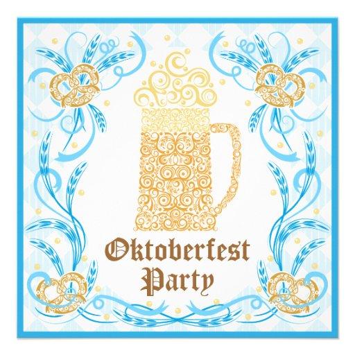 Personalized Oktoberfest Invitations – Oktoberfest Party Invitations