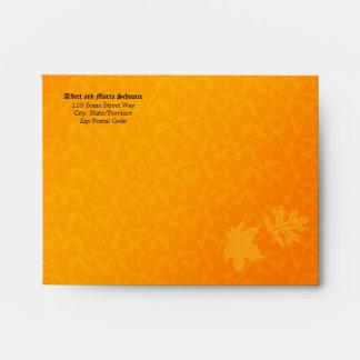 Oktoberfest Party Invitation A-2 Envelope