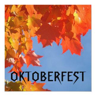 OKTOBERFEST party time Invitations Cards Autumn