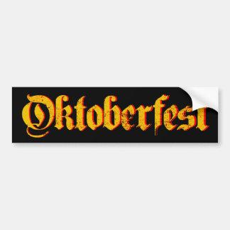 Oktoberfest Pegatina Para Auto