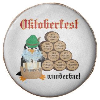 Oktoberfest Penguin Chocolate Covered Oreo
