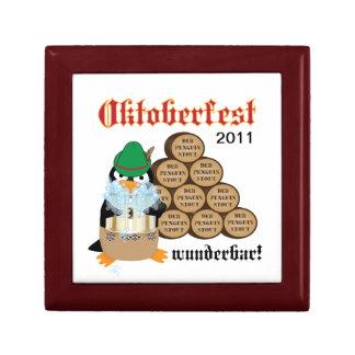 Oktoberfest Penguin Gift Box