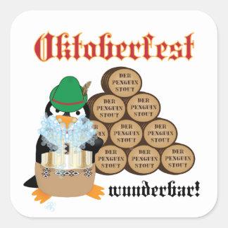 Oktoberfest Penguin Sticker