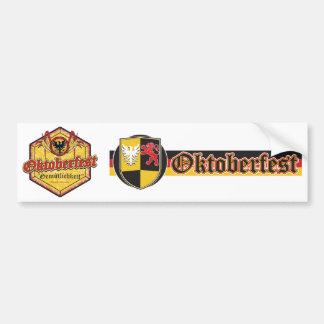 Oktoberfest - Pentagon Design Car Bumper Sticker