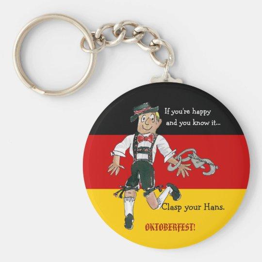 Oktoberfest Personalized Keychains