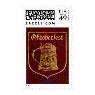 Oktoberfest Postage Stamps