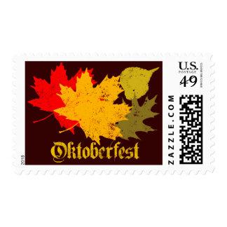 Oktoberfest Postage Stamp