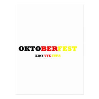 Oktoberfest Postcard