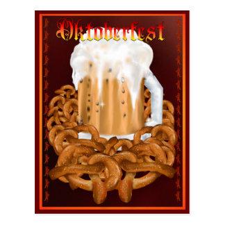 OKTOBERFEST Postercard Postcard