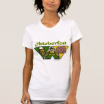 Oktoberfest Pretzel Ladies Shirts