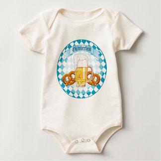 Oktoberfest Pretzels & Beer Baby Bodysuit