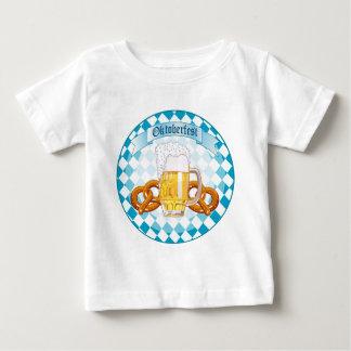 Oktoberfest Pretzels & Beer Baby T-Shirt