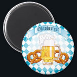 """Oktoberfest Pretzels &amp; Beer Magnet<br><div class=""""desc"""">Oktoberfest Pretzels &amp; Beer</div>"""