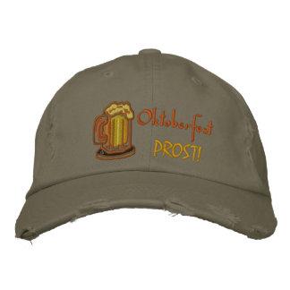 Oktoberfest  Prost Embroidered Baseball Cap