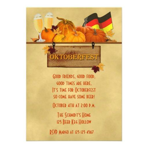 Oktoberfest, Pumpkins, Beer Announcement