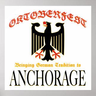 Oktoberfest que trae la tradición alemana a Anchor Póster