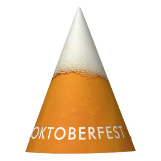 Oktoberfest. Real Beer Suds. Party Hat